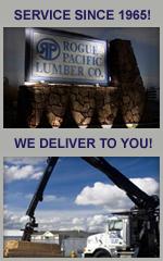 We deliver building supplies and recycled lumber!